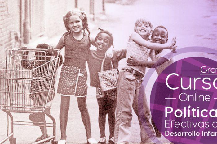 """Curso Gratis Online """"Políticas efectivas de desarrollo infantil"""" Banco Interamericano de Desarrollo Internacional"""